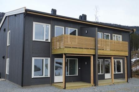 Moderne og arealeffektive leiligheter i firemannsbolig på Haukerød