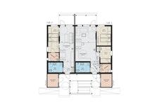Planløsning 1. etasje leilighet 2 (speilvendes)