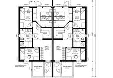 Byggesøknadstegninger - planløsning 1.etg
