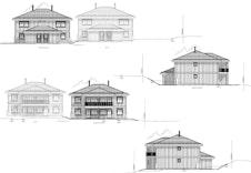 Byggesøknadstegninger - alle fasader