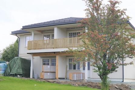 Heimdal - Bygging pågår - 1 solgt - Sentralt - Halvparter med 3 sov, stor åpen stue/kjøkkenløsning.