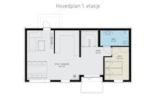 Andre etasje - Planløsning