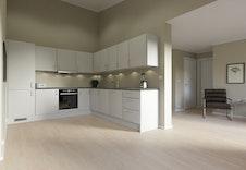 Kjøkken fra Sigdal. Bildene er illustrasjoner som vil avvike fra virkelig miljø og omgivelser.