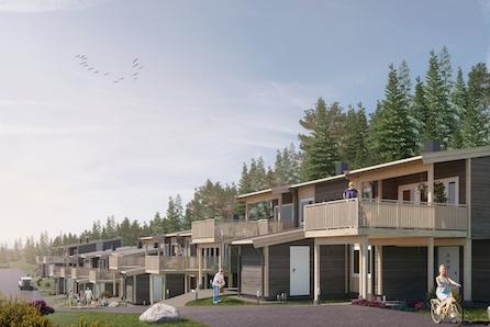 Klæbu I 3 Stk solgt! - Bygging igangsatt. Moderne Tomannsboliger med flotte solforhold og nydelig utsikt,  3-4 soverom.