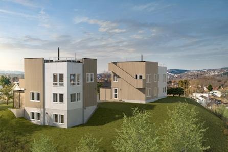 Stubban - Moderne enebolig med spektakulær utsikt, stor takterasse, 4 soverom og carport.