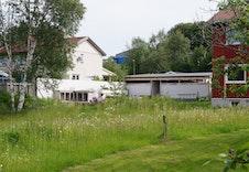En flott flat tomt og en grønn oase bare noen minutter unna Trondheim sentrum.
