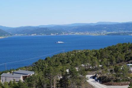 AGDENES - Gråhø m/ hems - Prisgunstig hyttedrøm med fantastisk utsikt over Trondheimsleia