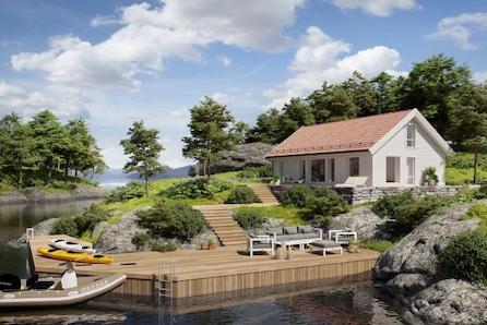 AGDENES - Opplev hytteidyllen med Storåsen med 4 soverom kun 1 time fra Trondheim