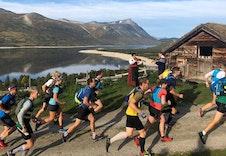 Oppdal fjellmaraton ved Gjevillvatnet