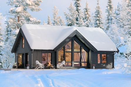 Oppdal/Stølen - Familiehytte på stor tomt like ved ski anlegg