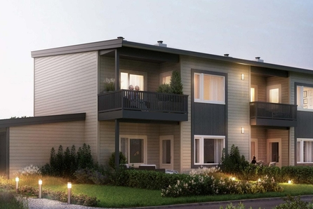 Brustuggutunet- et nyetablert boligfelt på Hovin | Leilighet i firemannsbolig | 2 SOV | Særdeles fint uteområde