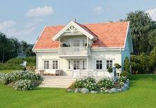 Kongsheim er en av våre bestselgende boligmodeller, vist som et eksempel fra vår katalog.