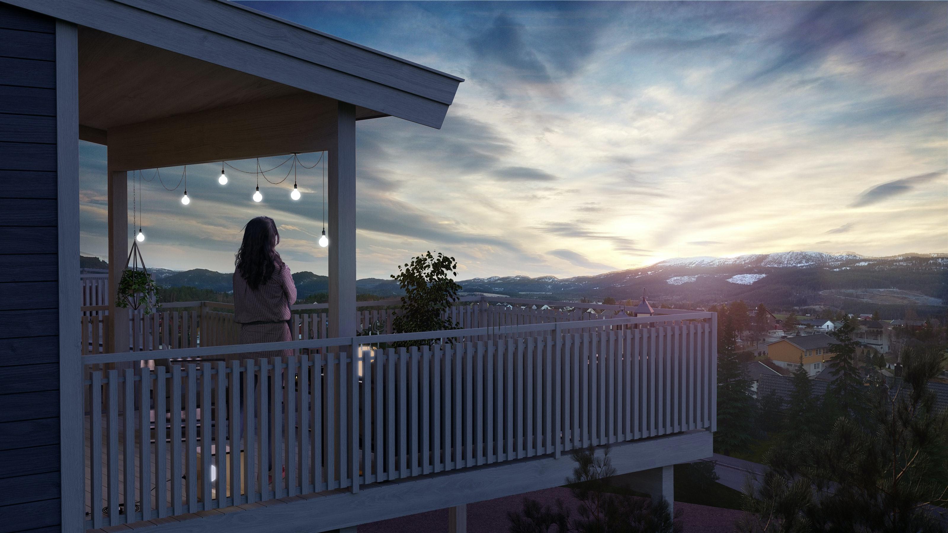 Lauvåsen - 1 solgt - Boliger med 3-4 soverom, nydelig utsikt, stor vestvendt terrasse - Infrastruktur oppstartet