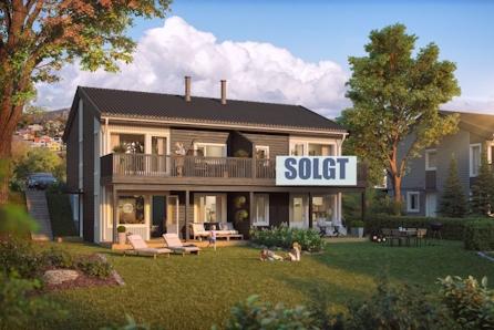 Hommelvik - 2 SOLGT - Sentrumsnær bolig med 3 soverom, solrik terrasse og carport like ved idylliske Homla