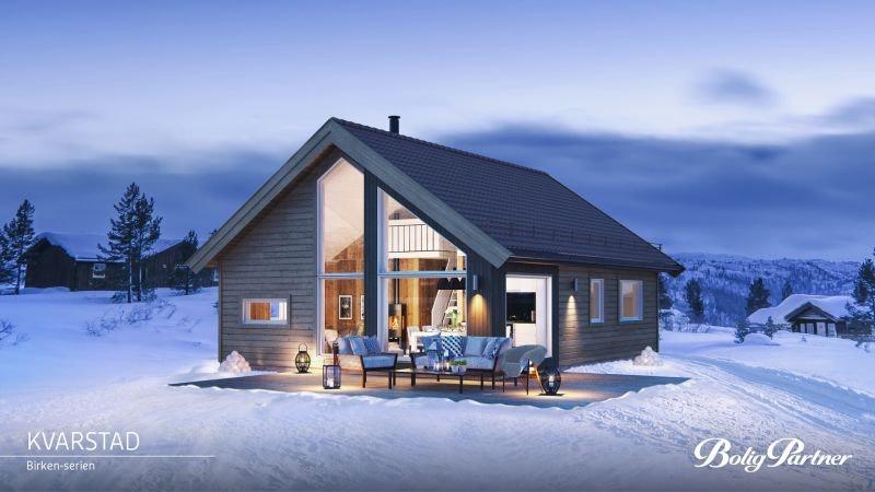 TEVELDAL - Nøkkelferdig Kvarstad med 3 soverom for den aktive familien i fantastisk ski- og turområde.