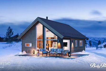 TEVELDAL - Nøkkelferdig Kvarstad med 3 soverom for den aktive familien.