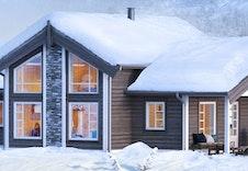Prosjekter Midthø (illustrasjon) Andre hyttemodeller kan velges.