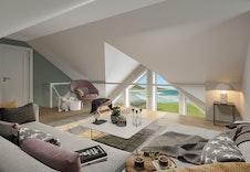 Nysetra (illustrasjonsbilde) Lys og luftig hems med panoramautsikt