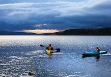 Mulighet for padling ulike vann. Se www.meraker-storlien.com