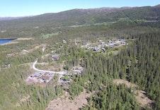 Teveldalen hytteområde med nærhet til naturen og aktivitetspark