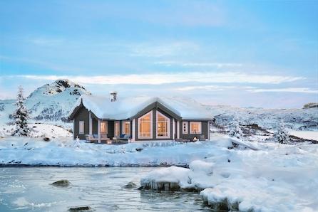 Fagerlia i Meråker - Hytte med gangavstand til alpinbakke, langrennsløyper og turterreng