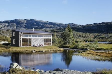 Råkvåg - Flott hytte med praktiske løsninger. Fantastisk sjøutsikt