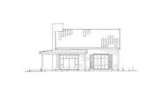 "Fasadetegning av hytten ""Sva"""