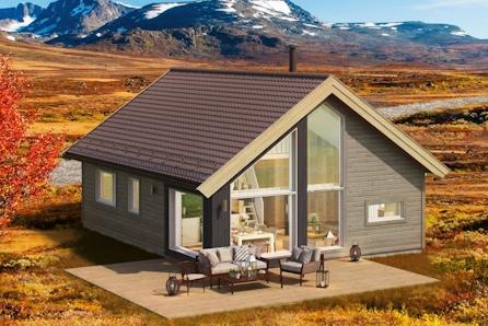 Familievennlig hytte med utsikt - Årøybukt , Lyngen