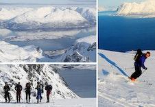 Lyngsalpene er kjent for sine fantastiske tur og skiopplevelser.