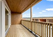 Fin balkong på 13 kvm
