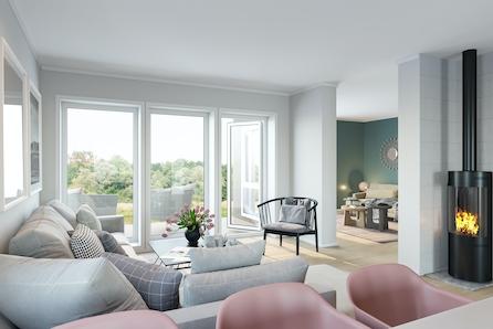 Nærbø | Romslige boliger med husbankfinansiering til 1,6% rente | 1 solgt og 1 reservert