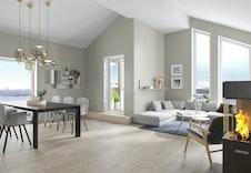 Illustrasjonsbilde fra stue. Bildet kan avvike fra virkelig miljø og omgivelser.