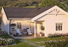 Borgheim: Innholdsrik bolig med tre soverom, bad, vaskerom og egen WC.