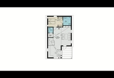 Planløsning 2 etg med stor stue/kjøkken løsning og stor tak høyde. Hoved sov med tilhørende bad og eget gjeste WC.