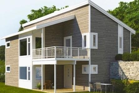 Askim, Grøtvedtjordet - Prosjektert enebolig, solrik vestvendt selveiertomt på 700m2 - 4 sov, 2 bad, tv-stue.