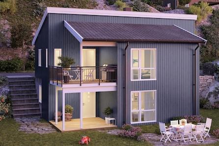 Dronninga/Freberg - Innholdsrike eneboliger på solrike tomter med moderne standard - 4 soverom - dobbelgarasje