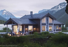 """Her kan du bl.a. byggje hytta """"Sletthø"""". Den er på 126kvm, har 4 soverom og ein stor hems."""