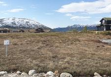 Utsikt mot vest, tomt fc 222