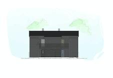 Her ser dere illustrasjon av bygge og fargen på de forskjellige ytterdørene.