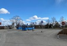 Bussterminalen ved togstasjonen
