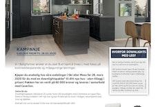 Ved kontraktsinngåelse på tomt og hus før 28.03.20 får du med ekstra lyspakke til verdi kr 60.000,- med på kjøpet!