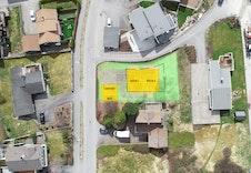 Bildet er ment som orientering av bolig, carport ift omkringliggende bebyggelse.