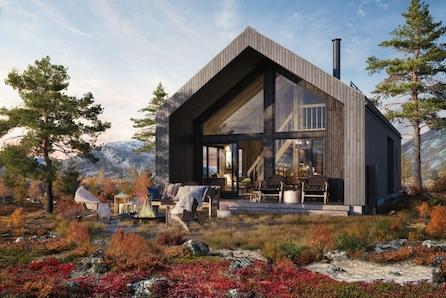 Bøyfoten Hyttefelt- Nøkkelferdig hytte med fantastisk utsikt.