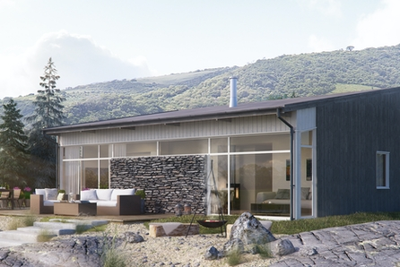Moderne nøkkelferdig hytte i Målselv Fjellandsby. Ski inn - ski ut!