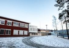 Solvang skole ligger kun 1 km fra Granrudtunet