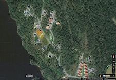 Satellittfoto av området