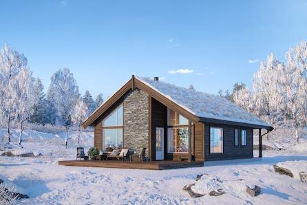 Norefjell/Narumsetra - Familiehytte med 3 soverom og hems. Skiløyper i umiddelbar nærhet og kort vei til alpint.