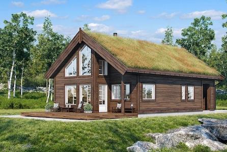 Boligpartner skal bygge hytter på Bjorli! Innhaldsrik familiehytte med hems på utsiktstomt!