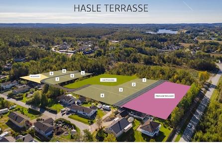 Nytt tomteområde på Hasle! Nå kan du sikre deg eneboligtomt på nytt boligfelt mellom Hasle Terrasse og Hasletoppen.