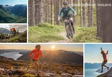 Sogndal er eit kjent område for friluftsmiljøet i heile Europa